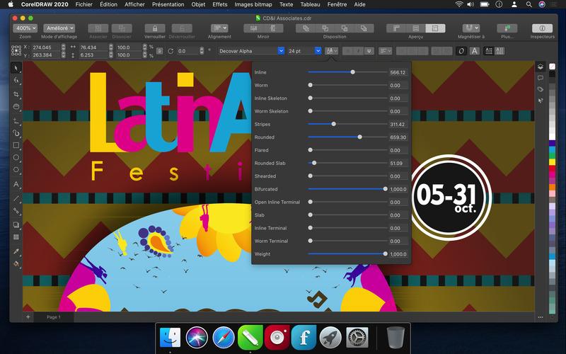 Illustration : On a testé la suite CorelDRAW 2020 (disponible dès à présent sur Mac) !