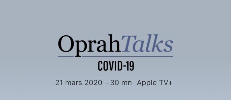 Illustration : TV + : Oprah Winfrey anime un spécial #covid-19