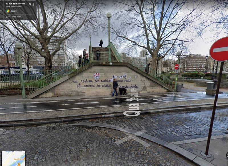 Illustration : Insolite : une pub sauvage d'Apple retirée par la mairie du 19e arrondissement de Paris