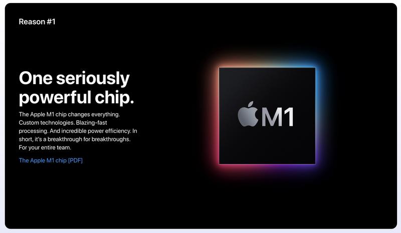 Illustration : Pour Apple, il y a 11 raisons pour un pro de choisir un Mac !