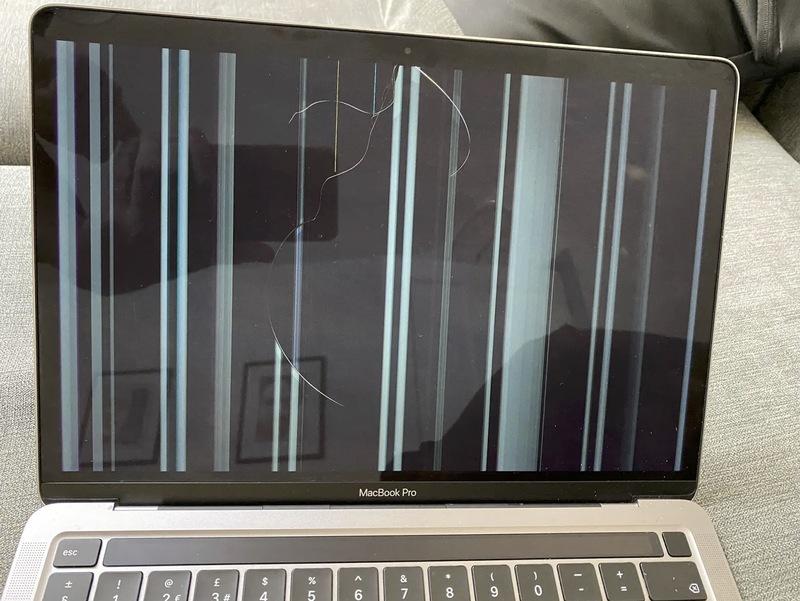 Illustration : Certains écrans des Mac M1 présenteraient des fissures à l'usage