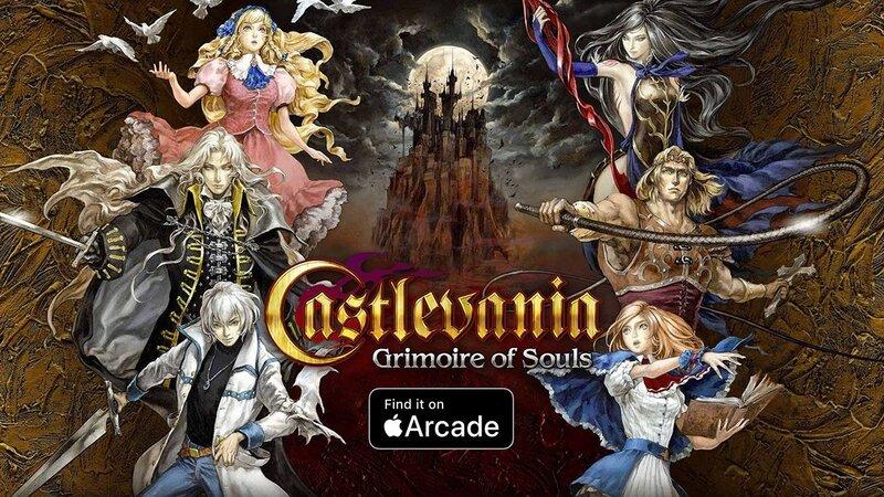"""Illustration : Konami va ressusciter le """"flop"""" de Castlevania Grimoire of Souls sur Apple Arcade"""