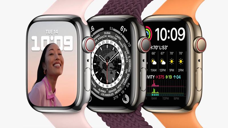 Illustration : Pas de nouveau processeur dans l'Apple Watch Series 7