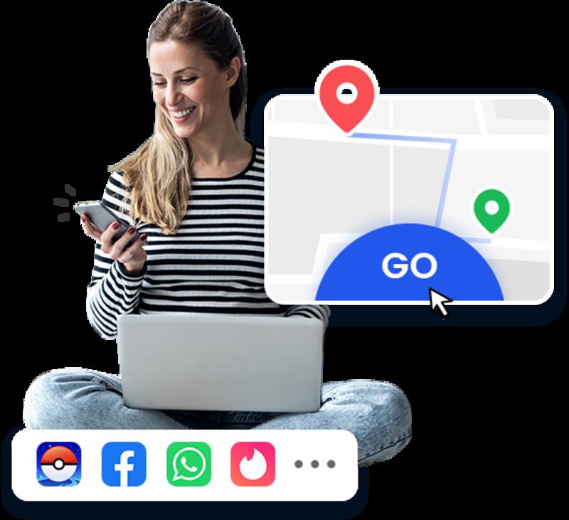 Illustration : MockGo simule une position GPS sur iPhone (bon plan : 40% de réduction !)