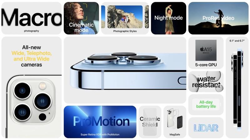 Illustration : iPhone 13 ou iPhone 13 Pro : lequel choisir ? (points communs et différences !)