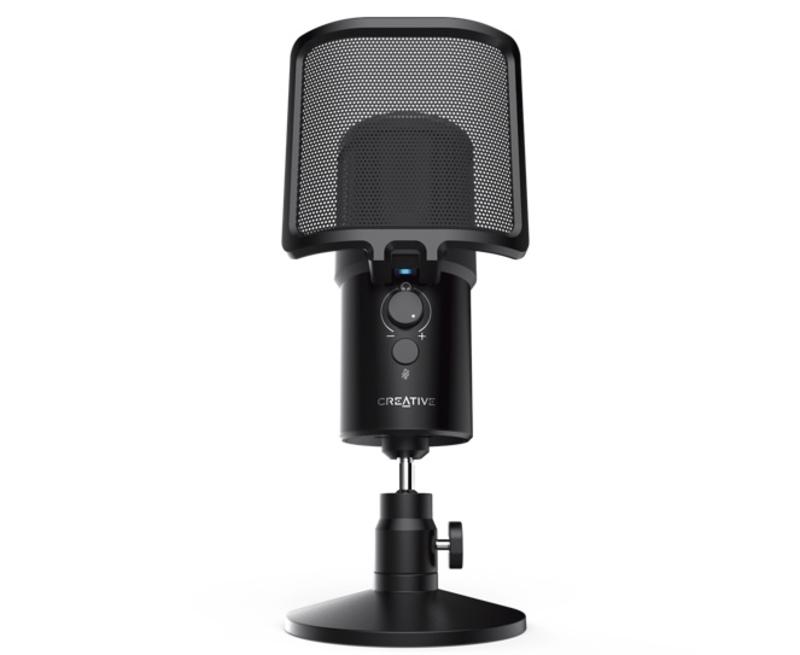Illustration : Live! Mic M3 : un nouveau microphone USB à 59€ chez Creative