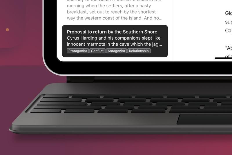 Illustration : L'application d'écriture Ulysses revoit son interface pour iOS/iPadOS 15