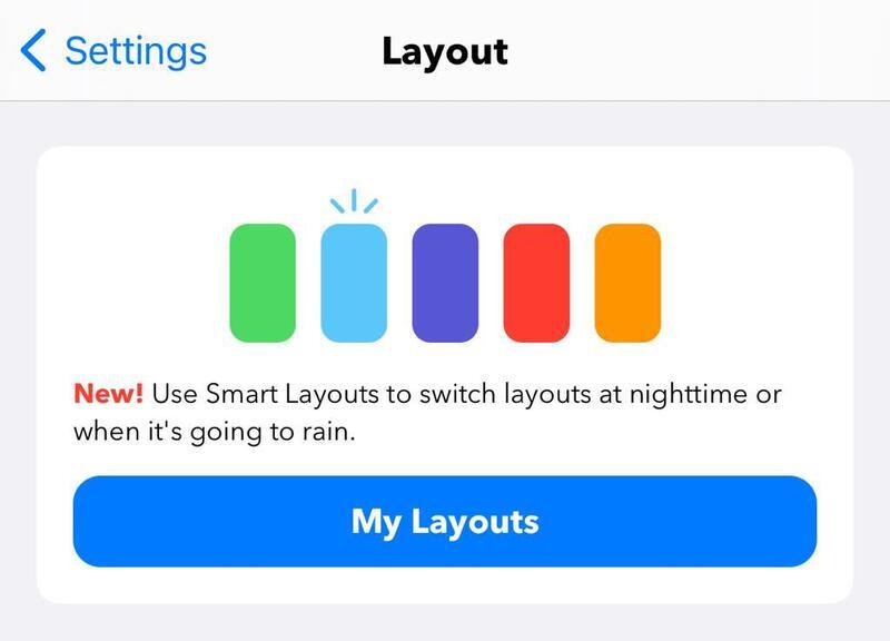 Illustration : Carrot Weather se met à l'automne : widgets pour iPadOS et nouveaux thèmes