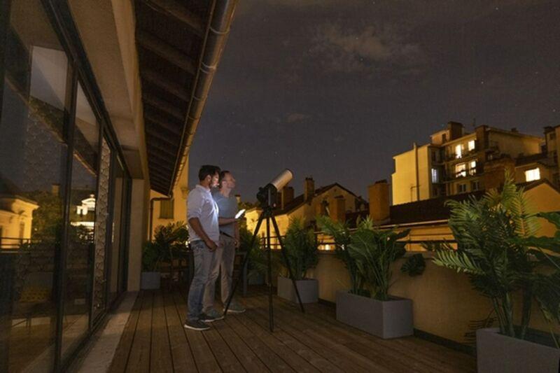 Illustration : Téléscope numérique : Unistellar s'associe à Nikon pour l'eVscope 2 !