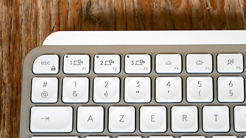 Illustration : Prise en main du MX Keys Mini pour Mac : une version compacte pour le clavier Logitech