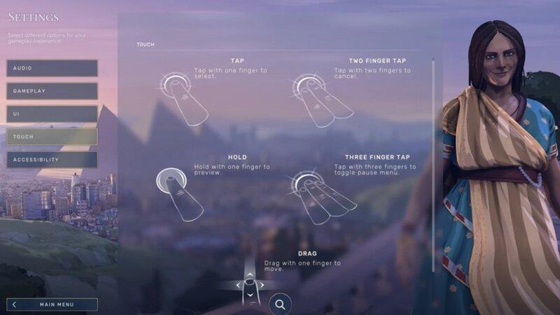 "Illustration : Stadia propose les commandes tactiles ""Direct Touch"" sur iOS"