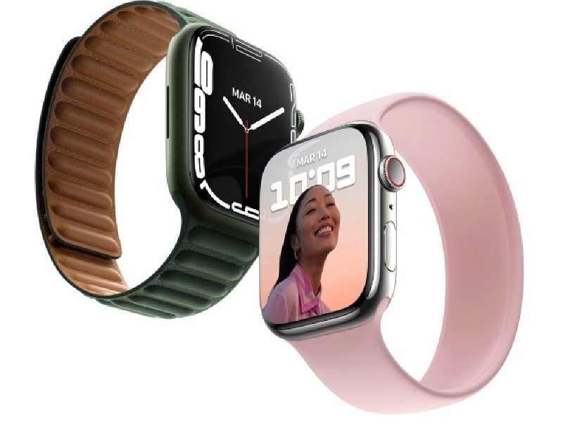 Illustration : Plus de port diagnostic sur l'Apple Watch Series 7