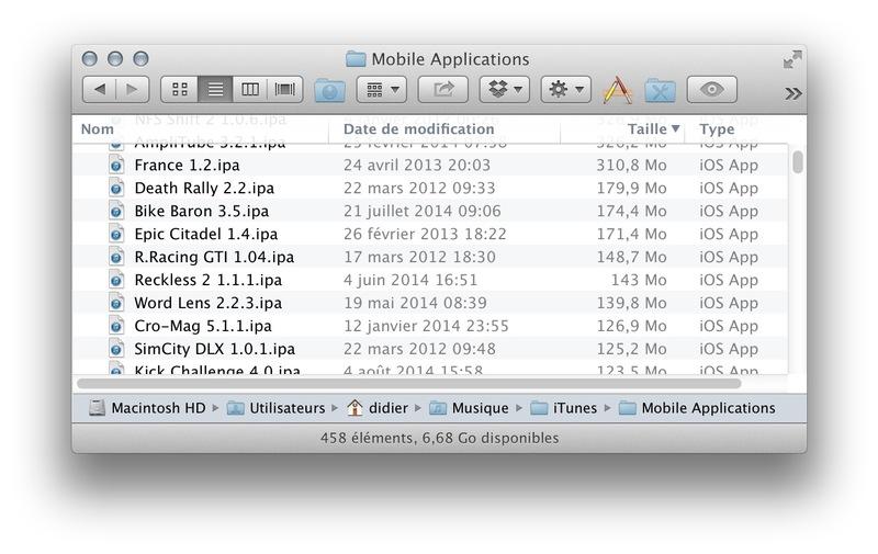 Illustration : Astuce : libérer de l'espace disque rapidement sur son Mac grâce aux apps iOS