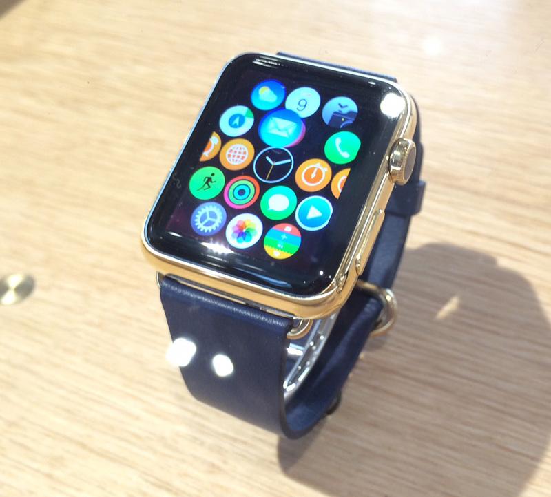 Illustration : Des Apple Watch déjà dans les Apple Store français, une sortie début avril