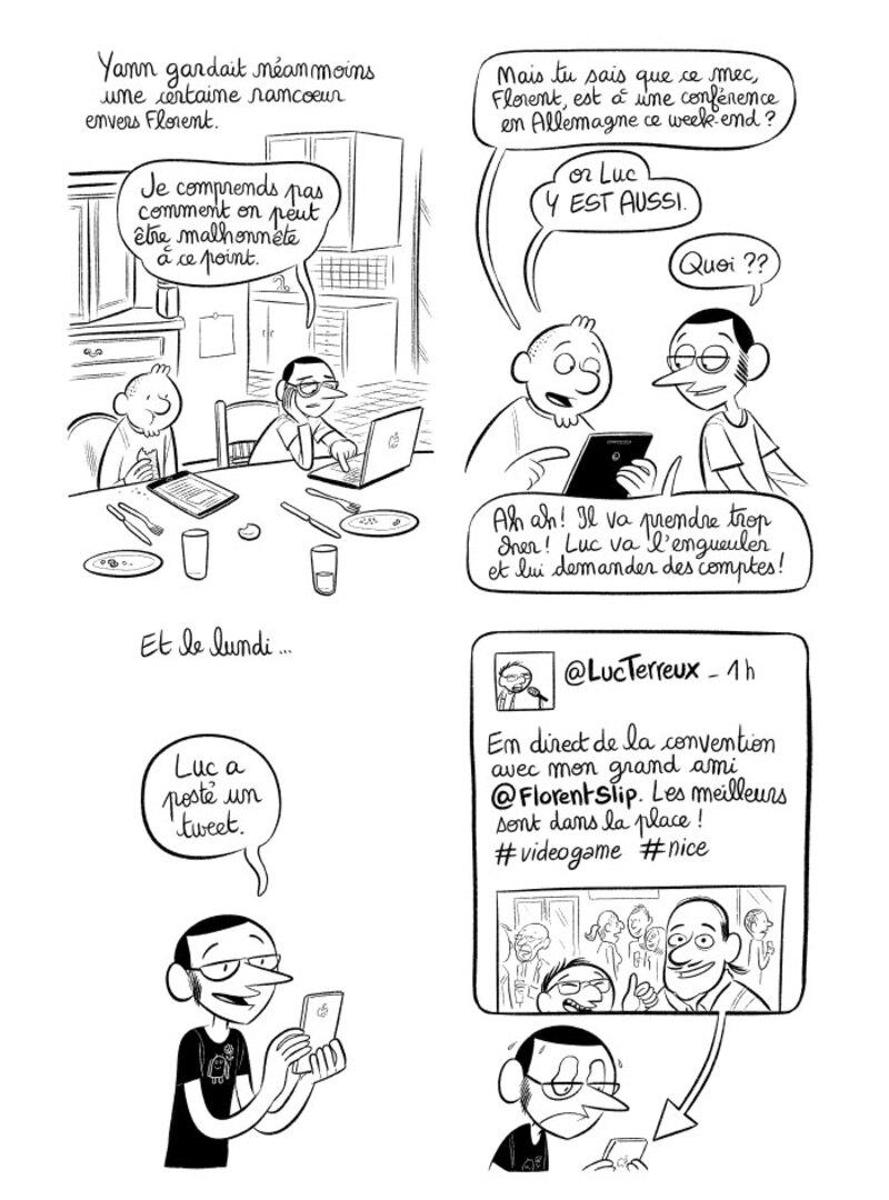 """Illustration : BD : """"J'ai créé ma startup iOS en Californie"""", par Laurel"""