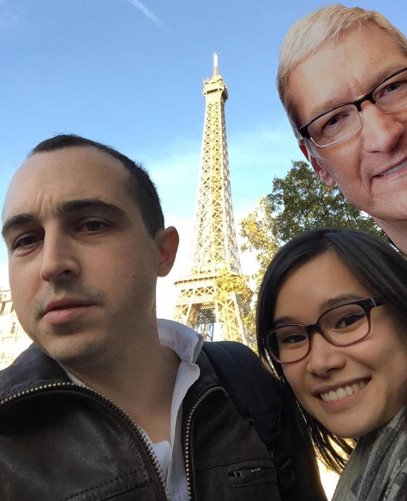Illustration : Exclusif :Tim Cook est à Paris !