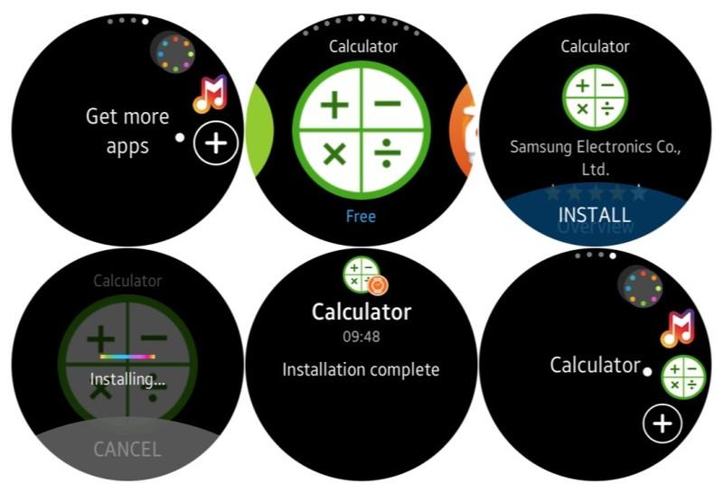 Illustration : Samsung Gear S2 : un premier aperçu de la prochaine (grande) mise à jour logicielle