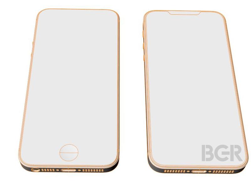 Illustration : L'iPhone SE 2 à encoche continue d'alimenter les rumeurs