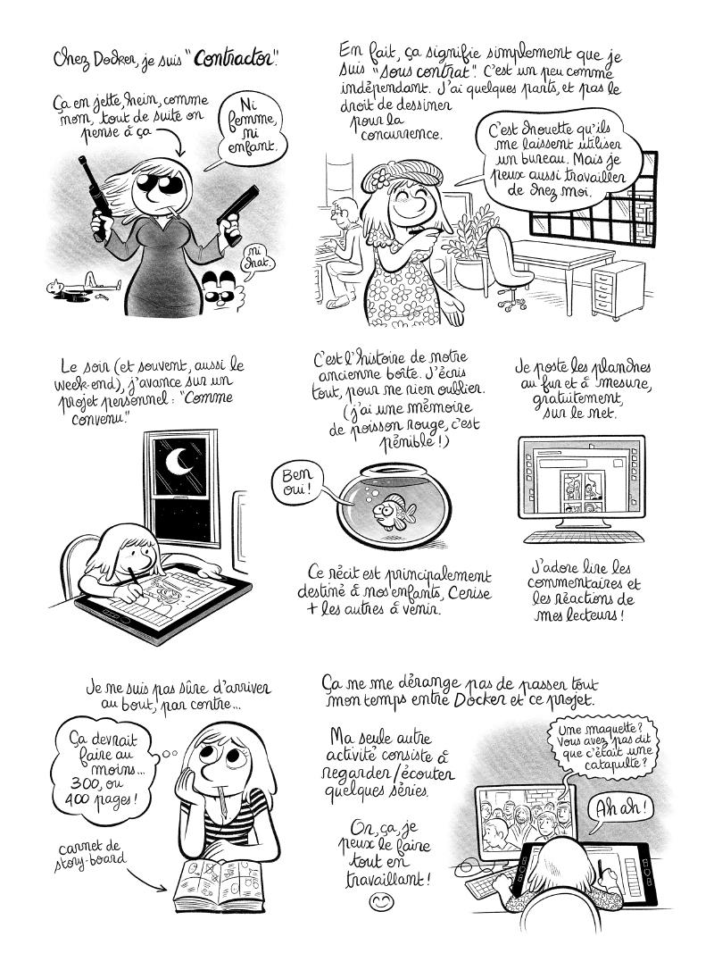 Illustration : BD : Laurel pourrait revenir sur Mac4Ever (mais c'est à vous d'en décider !)