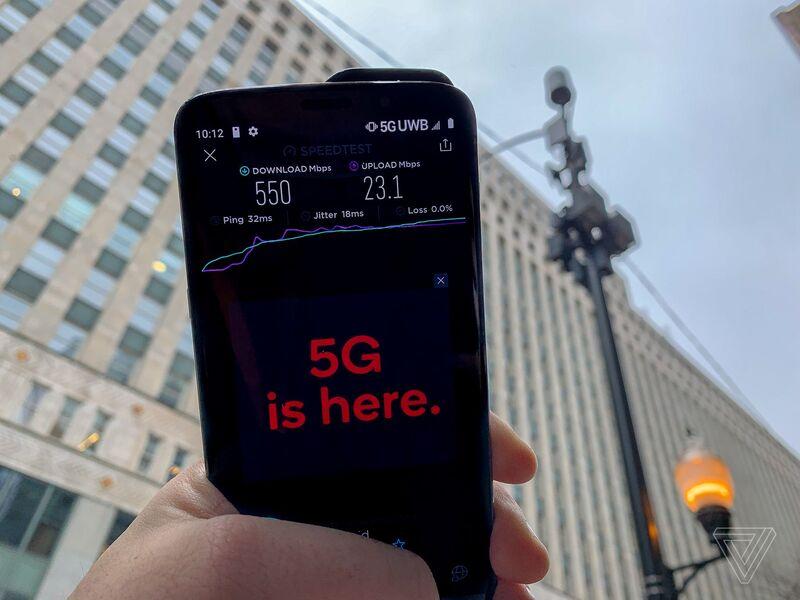 Illustration : L'image du jour : à quelle vitesse va vraiment la 5G (dans la vraie vie) ?